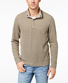 Tommy Bahama Men's Cold Springs Mock Neck Sweater, Created for Macy's