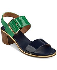 Tommy Hilfiger Katz Block-Heel Dress Sandals