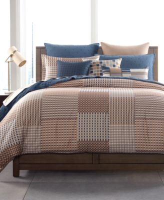 Patchwork Twin Duvet Cover, Created for Macy's
