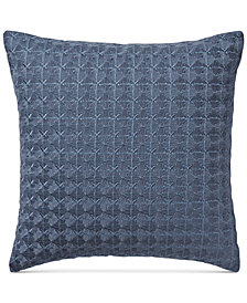 """Hotel Collection Patchwork 18"""" x 18"""" Cotton Decorative Pillow, Created for Macy's"""