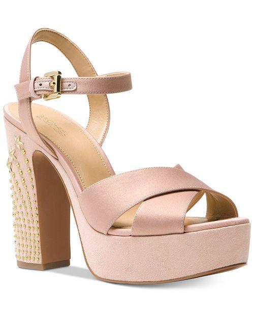 4fd7c4f0ebde Michael Kors Sia Platform Dress Sandals   Reviews - Sandals   Flip ...