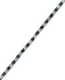 EFFY® Diamond Tennis Bracelet (3-3/4 ct. t.w.) in 14k White Gold