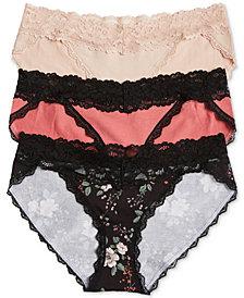 Jessica Simpson Maternity Bikini Briefs, 3-Pack