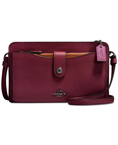 a22ea9963f COACH Pop Up Messenger in Colorblock Leather   Reviews - Handbags ...