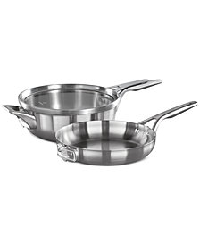 Calphalon Premier Space-Saving 3-Pc. Try Me Set