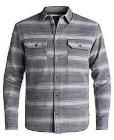 Quiksilver Men's Dusky Town Sherpa-Lined Shirt