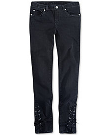 Levi's® 710 Super Skinny Lace-Up Jeans, Big Girls