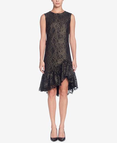 Catherine Malandrino Eloise Silk Lace Dress