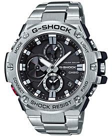 G-Shock Men's Stainless Steel Bracelet Watch 53.8mm