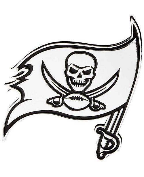 Stockdale Tampa Bay Buccaneers Metal Auto Emblem - Sports Fan Shop ... eadc58ed9