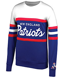 Mitchell & Ness Men's New England Patriots Head Coach Crew Sweatshirt