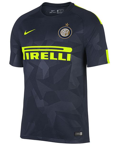 newest 251df e5f83 Nike Men's Inter Milan 3rd Stadium Jersey - Sports Fan Shop ...