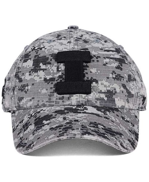 sports shoes a56c8 44af1 ...  47 Brand Illinois Fighting Illini Operation Hat Trick Camo Nilan Cap     ...