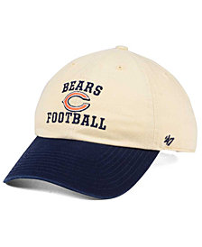 '47 Brand Chicago Bears Steady Two-Tone CLEAN UP Cap