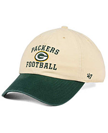 '47 Brand Green Bay Packers Steady Two-Tone CLEAN UP Cap