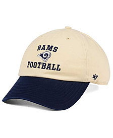 '47 Brand Los Angeles Rams Steady Two-Tone CLEAN UP Cap