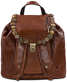 Patricia Nash Studded Hardware Casape Backpack