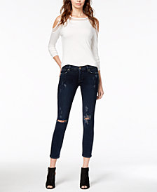 Hudson Jeans Ripped Skinny Jeans