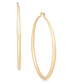 "INC Extra Large 2.75"" Gold-Tone Hoop Earrings, Created for Macy's"