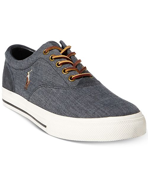 ea48cf03fc80 Polo Ralph Lauren Men s Vaughn Sneakers   Reviews - All Men s ...