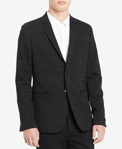 Calvin Klein Men's Hidden-Button Blazer