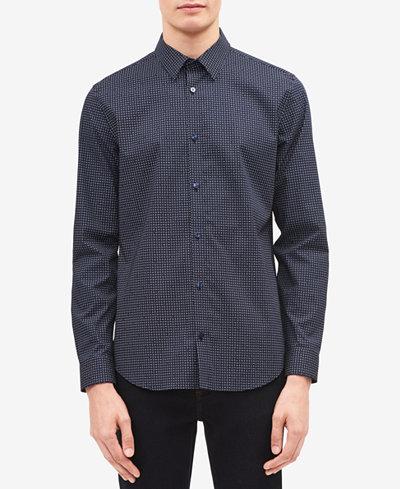 Calvin Klein Men's Off The Grid Printed Shirt