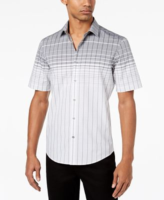Alfani Men's Norwich Plaid Shirt, Created for Macy's