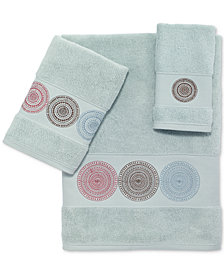 Avanti Emmeline Cotton Embroidered Fingertip Towel