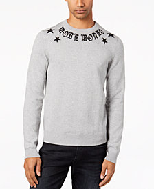 GUESS Men's Caviar Beaded Sweater
