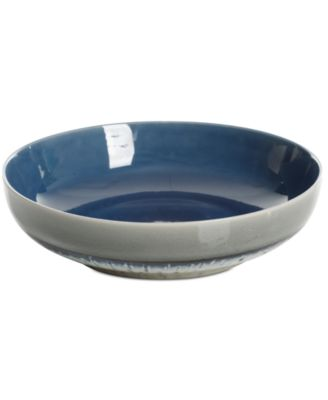 Elite Reactive Glaze Blue Pasta Bowl, Created for Macy's
