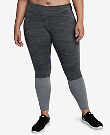 Nike Plus Size Legendary Colorblocked Dri-FIT Leggings