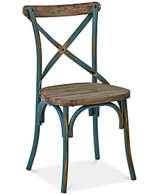 Glenman X-Back Dining Chair, Quick Ship