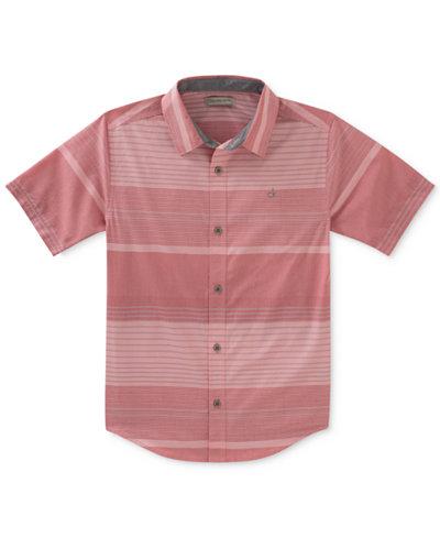 Calvin Klein Horizontal Striped Shirt, Big Boys