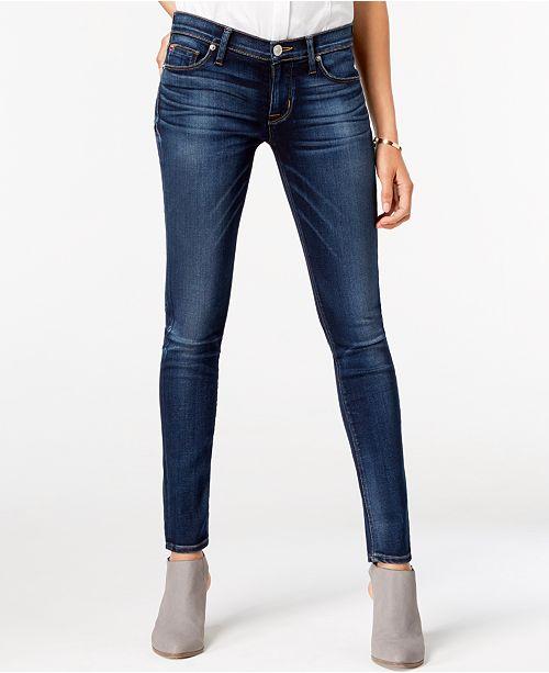 98fe2f7bc222cd Hudson Jeans Nico Super-Skinny Jeans   Reviews - Jeans - Women - Macy s
