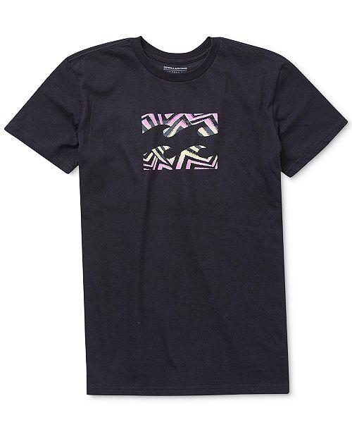Billabong Team Wave Graphic-Print Cotton T-Shirt, Toddler Boys