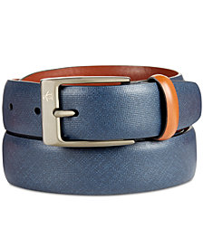 Original Penguin Men's Sun Tanned Leather Belt