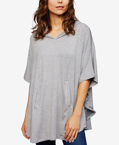 A Pea In The Pod Maternity Nursing French Terry Poncho