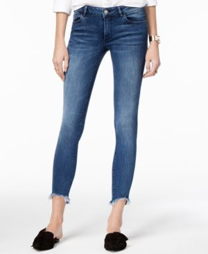 Dl 1961 Low-Rise Frayed Skinny Jeans 5347649
