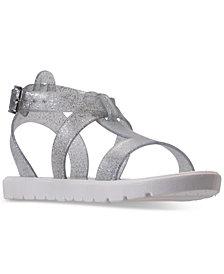 Nine West Little Girls' Heyleigh Gladiator Jelly Sandals from Finish Line