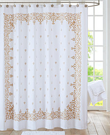 "Algiers Cotton Printed 72"" x 72"" Shower Curtain"