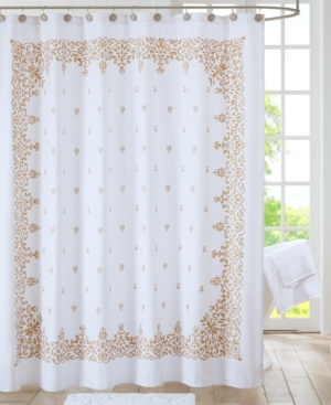 Algiers Cotton Printed 72 x 72 Shower Curtain Bedding
