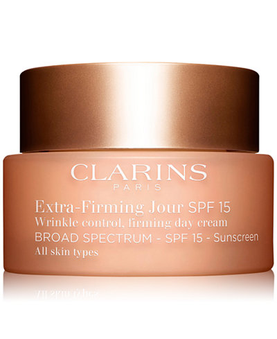 Clarins Extra-Firming Day Cream SPF 15 - All Skin Types, 1.7-oz.