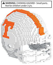 Forever Collectibles Tennessee Volunteers BRXLZ 3D Helmet Puzzle
