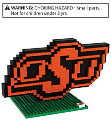 Forever Collectibles Oklahoma State Cowboys BRXLZ 3D Logo Puzzle