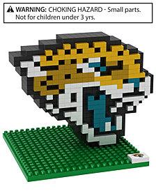 Forever Collectibles Jacksonville Jaguars BRXLZ 3D Logo Puzzle