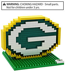 Forever Collectibles Green Bay Packers BRXLZ 3D Logo Puzzle