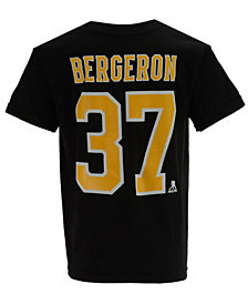 Outerstuff Patrice Bergeron Boston Bruins Player T-Shirt, Big Boys (8-20)