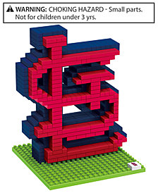 Forever Collectibles St. Louis Cardinals BRXLZ 3D Logo Puzzle