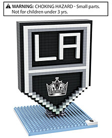 Forever Collectibles Los Angeles Kings BRXLZ 3D Logo Puzzle
