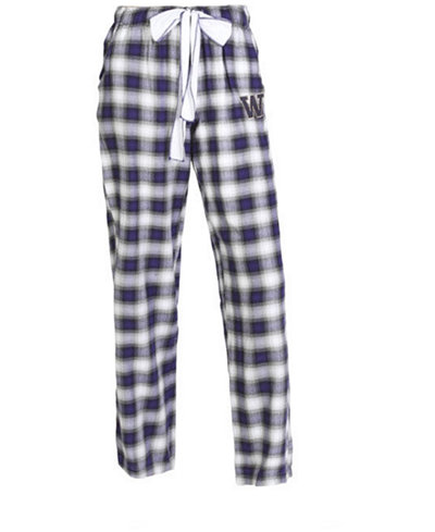 Concepts Sport Women's Washington Huskies Forge Flannel Pants